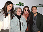 Katie Holmes, Jayne Houdyshell, Playwright Theresa Rebeck and Norbert Leo Butz  attending the Meet & Greet the cast of the new Broadway Play 'Dead Accounts' on October 12, 2012 in New York City.