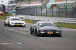 10.09.2017, N&uuml;rburgring, N&uuml;rburg, DTM 2017, 14.Lauf N&uuml;rburgring,08.09.-10.09.2017 , im Bild<br /> Zieldurchfahrt:<br /> Sieger Robert Wickens (CDN#6) Mercedes-AMG Motorsport Mercedes me, Mercedes-AMG C 63 DTM , 2.Platz f&uuml;r Paul Di Resta (GBR#3) Mercedes-AMG Motorsport SILBERPFEIL Energy, Mercedes-AMG C 63 DTM <br /> <br /> Foto &copy; nordphoto / Bratic