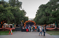 Opening Night party in the Academic Quad<br /> Occidental College hosts its annual Alumni Reunion Weekend, June 22-24, 2018 on campus. This year, alumni from the classes of 1968, 1973, 1978, 1983, 1988, 1993, 1998, 2003, 2008 and 2013 gathered to reconnect with friends and family in the Oxy community.<br /> (Photo by Marc Campos, Occidental College Photographer)