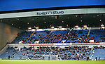 A low attendance in the league today as fans continue to stay away from Ibrox