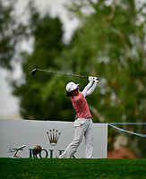 Ayako Uehara, of Japan, hits her tee shot from the 9th hole. After 54 holes she is at -9. Third round of the ANA Inspiration at the Mission Hills Country Club in Palm Desert, California, USA. 3/31/18.<br /> <br /> Picture: Golffile | Bruce Sherwood<br /> <br /> <br /> All photo usage must carry mandatory copyright credit (&copy; Golffile | Bruce Sherwood)during the second round of the ANA Inspiration at the Mission Hills Country Club in Palm Desert, California, USA. 3/31/18.<br /> <br /> Picture: Golffile | Bruce Sherwood<br /> <br /> <br /> All photo usage must carry mandatory copyright credit (&copy; Golffile | Bruce Sherwood)