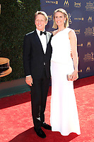PASADENA - APR 30: Bradley Bell, Colleen Bell at the 44th Daytime Emmy Awards at the Pasadena Civic Center on April 30, 2017 in Pasadena, California