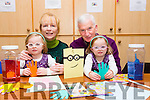 l-r  Maureen Lacey and Martin Lacey with Grandaughters Jessica Lacey and Emma Lacey on Grandparents Day at St Bridgets Family Resource Centre, Hawley Park