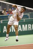 21-2-06, Netherlands, tennis, Rotterdam, ABNAMROWTT,  Olivier Rochus in his match against Meltzer