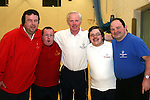 Footballers, Brendan Carroll, Jason Kierans, Bernard McEnaney and Gerard Bird with their coach Gerry Kirwan at the Launch of the Special Olympics Team...Photo NEWSFILE/Jenny Matthews.(Photo credit should read Jenny Matthews/NEWSFILE)....This Picture has been sent you under the condtions enclosed by:.Newsfile Ltd..The Studio,.Millmount Abbey,.Drogheda,.Co Meath..Ireland..Tel: +353(0)41-9871240.Fax: +353(0)41-9871260.GSM: +353(0)86-2500958.email: pictures@newsfile.ie.www.newsfile.ie.FTP: 193.120.102.198.