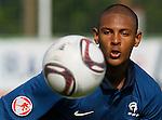 Soccer, UEFA U-17.France Vs. England.Sebastien Haller.Indjija, 03.05.2011..foto: Srdjan Stevanovic