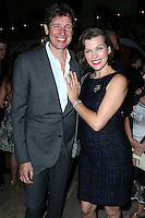 BEL AIR, CA, USA - OCTOBER 22: Paul W. S. Anderson, Milla Jovovich arrives at the 2014 ASPCA Compassion Award Dinner Gala held at a Private Residence on October 22, 2014 in Bel Air, California, United States. (Photo by Xavier Collin/Celebrity Monitor)