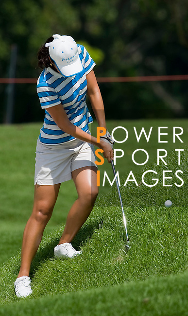SINGAPORE - MARCH 06:  Ji Young Oh of South Korea during the second round of HSBC Women's Champions at the Tanah Merah Country Club on March 6, 2009 in Singapore.  Photo by Victor Fraile / The Power of Sport Images