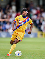 Fraizer Campbell of Crystal Palace  during the Friendly match between AFC Wimbledon and Crystal Palace at the Cherry Red Records Stadium, Kingston, England on 27 July 2016. Photo by Edward Thomas / PRiME Media Images.