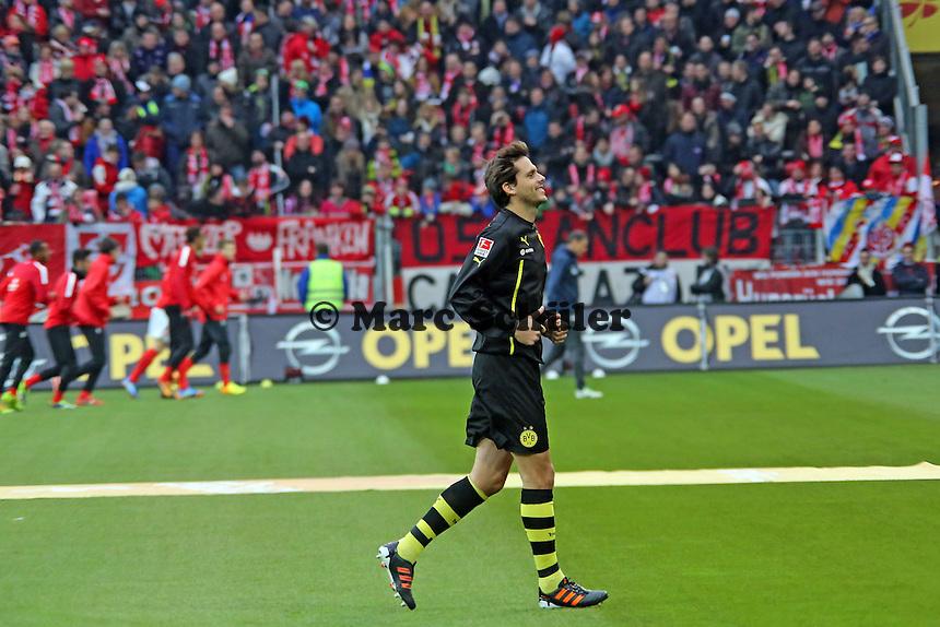 Ex-Mainzer Manuel Friedrich (BVB) soll die Probleme in der Innenverteidigung des BVB lösen und gibt sein Debüt in der Stammelf an alter Arbeitsstelle- 1. FSV Mainz 05 vs. Borussia Dortmund, Coface Arena, 14. Spieltag
