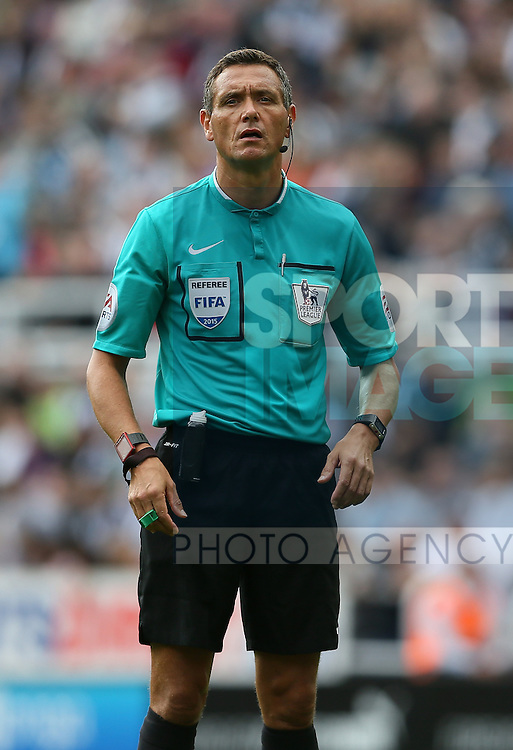 Referee Andre Marriner - English Premier League - Newcastle Utd v Arsenal - St James' Park Stadium - Newcastle - England - 28th August 2015 - Picture Simon Bellis/Sportimage