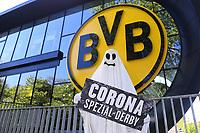 2020 Bundeliga team Borussia Dortmund play FC Schalke on 16th May with no Crowd at Signal Iduna May