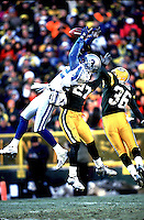 Dec 10, 2000 Green Bay WI: Detroit Lions wide receiver Germane Crowell catches a pass against the Green Bay Packers