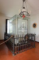Totenzimmer, Casa Museo di Garibaldi auf  Isola Caprera, La Maddalena-Archipel (Arcipelago della Maddalena), Provinz Olbia-Tempio, Nord Sardinien, Italien