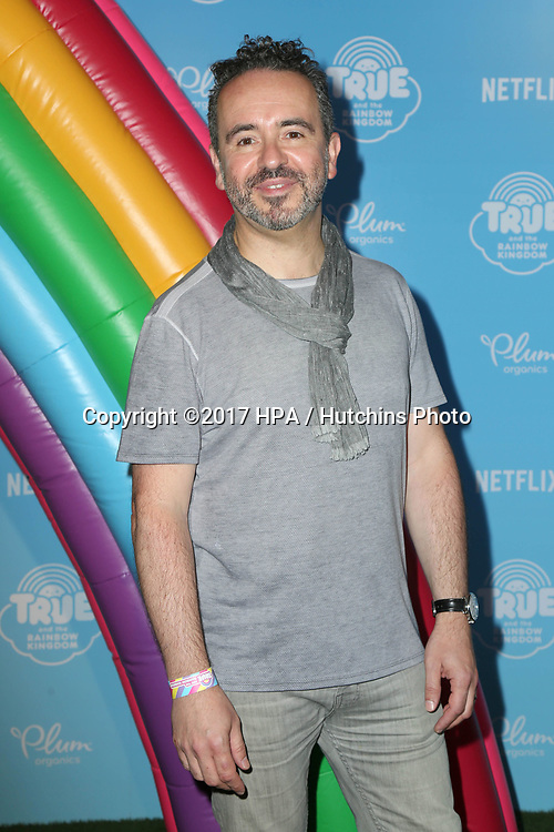 LOS ANGELES - AUG 10:  Frank Falcone at the True and the Rainbow Kingdom Series LA Premiere at the Pacific Theater At The Grove on August 10, 2017 in Los Angeles, CA