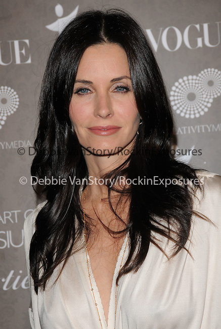 """Courteney Cox Arquette at The 2nd Annual Art of Elysium Black Tie Charity Gala """"Heaven"""" held at The Vibiana in Los Angeles, California on January 10,2009                                                                     Copyright 2008 Debbie VanStory"""