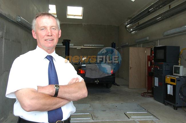 Martin Carolan garage.Photo By Fran Caffrey/Newsfile.ie
