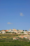 Israel, Upper Galilee, Arab town Jish (Gush Halav) located on the northeastern slopes of Mt. Meron