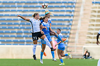 Bridgeview, IL - Sunday June 25, 2017: Madison Tiernan, Sofia Huerta, Julie Johnston Ertz during a regular season National Women's Soccer League (NWSL) match between the Chicago Red Stars and Sky Blue FC at Toyota Park. The Red Stars won 2-1.