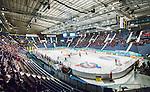 Stockholm 2015-01-04 Ishockey Hockeyallsvenskan AIK - Vita H&auml;sten :  <br /> Vy &ouml;ver Hovet med publik och tomma stolar under matchen mellan AIK och Vita H&auml;sten <br /> (Foto: Kenta J&ouml;nsson) Nyckelord:  AIK Gnaget Hockeyallsvenskan Allsvenskan Hovet Johanneshov Isstadion Vita H&auml;sten inomhus interi&ouml;r interior supporter fans publik supporters