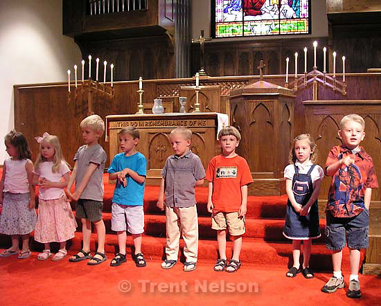 Nathaniel Nelson graduates from pre-school<br />