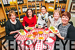 Listowel Food Fair: Enjoying the Tapas Night at Cafe Hanna at John R's on Friday night as part of Listowel Food fair were the Horgan family from Finuge. L-R: Eleanor, Laura, Nellie, Nuala & Breda Horgan.