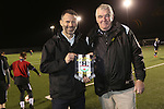 McDonalds Football<br /> Ryan Giggs visiting Risca Football Club training session.<br /> 06.03.15<br /> &copy;Steve Pope - SPORTINGWALES