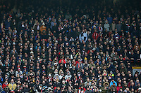 Swansea fans during the Premier League match between Liverpool and Swansea City at Anfield, Liverpool, Merseyside, England, UK. Saturday 21 January 2017