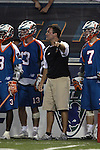San Francisco Dragons vs Los Angeles Riptide.Lebard Stadium, Orange Coast College,Huntington Beach, California.Coach Mike Allan.506P1529.JPG.CREDIT: Dirk Dewachter