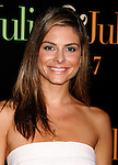 "WESTWOOD, CA. - July 27: Maria Menounos arrives at the Los Angeles screening  of ""Julie & Julia"" at the Mann Village Theatre on July 27, 2009 in Westwood, California."