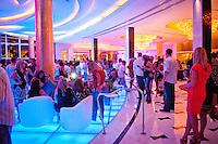 Lobby at Fontainebleau, Miami Beach, Florida, USA. Photo/Debi Pittman Wilkey.