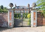 Georgian architecture country house mansion,  Lockeridge House built 1700 to 1734, Lockeridge, Marlborough, Wiltshire, England, UK