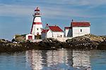 East Quoddy Head Lighthouse on Campobello Island