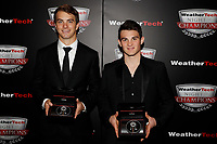 IMSA WeatherTech SportsCar Championship<br /> Night of Champions<br /> Road Atlanta, Braselton GA<br /> Monday 9 October 2017<br /> James French and Pato O'Ward with Tudor Watches<br /> World Copyright: Michael L. Levitt<br /> LAT Images