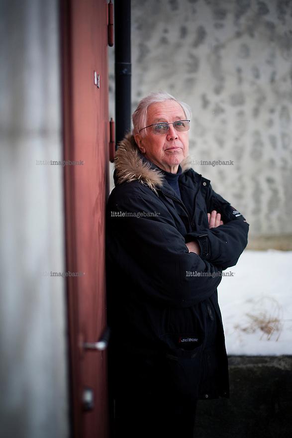 Oslo, Norge, 06.02.2013. Hallvard Bakke (født 4. februar 1943 i Flesberg, Buskerud) er en tidligere norsk politiker (Ap). Foto. Christopher Olssøn.