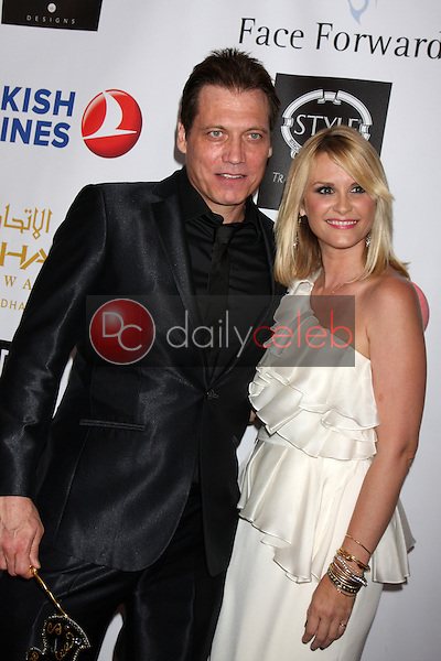 Holt McCallany, Bonnie Somerville<br /> 5th Annual Face Forward Gala, Biltmore Hotel, Los Angeles, CA 09-13-14<br /> David Edwards/DailyCeleb.com 818-249-4998