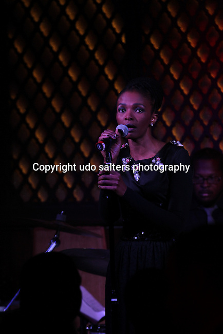 South African superstar, Simphiwe Dana.<br />