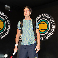ABN AMRO World Tennis Tournament, Rotterdam, The Netherlands, 13 februari, 2017, Aljaz Bedene (GBR)<br /> Photo: Henk Koster