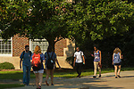 First day of the 2017 fall semester.  Photo by Kevin Bain/Ole Miss Communications
