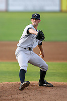 April 11, 2009:  Pitcher Jeremy Bleich (29) of the Tampa Yankees, Florida State League Single-A affiliate of the New York Yankees, during a game at Joker Marchant Stadium in Lakeland, FL.  Photo by:  Mike Janes/Four Seam Images