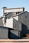 Grain elevators and warehouse, Orland, Calif.