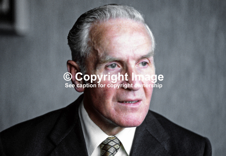 Dr James Kelly, chief executive, Electricitiy Supply Board, Rep of Ireland, November 1979, 1979110168a.<br />