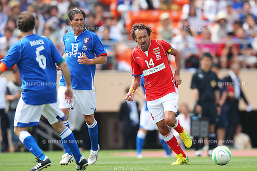 Ruy Ramos (JPN), JUNE 9, 2013 - Football / Soccer : <br /> Japan-Italy Legend Match between J League Legend Players 2-2 Glorie AZZURRE<br /> at National Stadium, Tokyo, Japan. (Photo by AFLO SPORT) [1156]