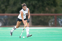 STANFORD, CA - September 19, 2010: Camille Gandhi during the Stanford Field Hockey game against Cal in Stanford, California. Stanford lost 2-1.