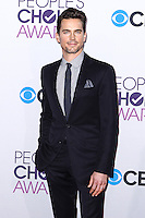 LOS ANGELES, CA - JANUARY 09: Matthew Bomer arrives at the 39th Annual People's Choice Awards held at Nokia Theatre L.A. Live on January 9, 2013 in Los Angeles, California.  Credit: MediaPunch Inc. /NORTEPHOTO