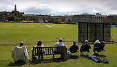 West of Scotland CC V Uddingston CC, Scottish National Cricket League, Premier Div, at Hamilton Cres, Glasgow - spectators bask in the intermittant sunshine - Picture by Donald MacLeod - 20 May 09