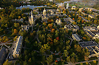 Aerial of the Main Quad.<br /> <br /> Photo by Matt Cashore/University of Notre Dame
