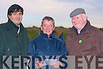 BETS: Bettiong on the horses at the Ballyheigue Races on Sunday l-r: Pa Joe McQuinn, Mike O'Mahony and John Michael McCarthy.......