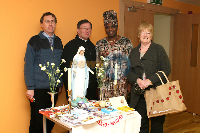 Chris Cassidy, Legion of Mary, Canon James Carroll, Elizabeth Oniwona, African Choir and Bridie McIvor from Drogheda Senior Citizens at the Barbican Parish Centre Open Day...Photo NEWSFILE/Jenny Matthews.(Photo credit should read Jenny Matthews/NEWSFILE)....This Picture has been sent you under the condtions enclosed by:.Newsfile Ltd..The Studio,.Millmount Abbey,.Drogheda,.Co Meath..Ireland..Tel: +353(0)41-9871240.Fax: +353(0)41-9871260.GSM: +353(0)86-2500958.email: pictures@newsfile.ie.www.newsfile.ie.FTP: 193.120.102.198.