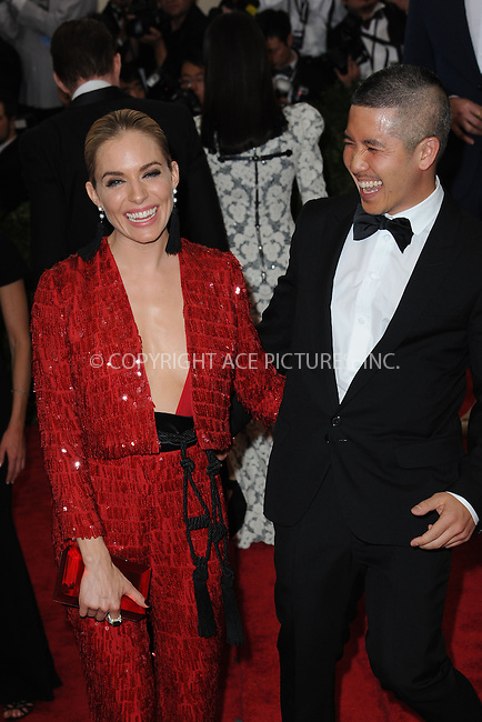 WWW.ACEPIXS.COM<br /> May 4, 2015...New York City<br /> <br /> Sienna Miller attending the Costume Institute Benefit Gala  celebrating the opening of China: Through the Looking Glass at The Metropolitan Museum of Art on May 4, 2015 in New York City.<br /> <br /> Please byline: Kristin Callahan<br /> ACEPIXS.COM<br /> Tel# 646 769 0430<br /> e-mail: info@acepixs.com<br /> web: http://www.acepixs.com